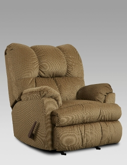 Moab Mocha Chaise Rocker Recliner