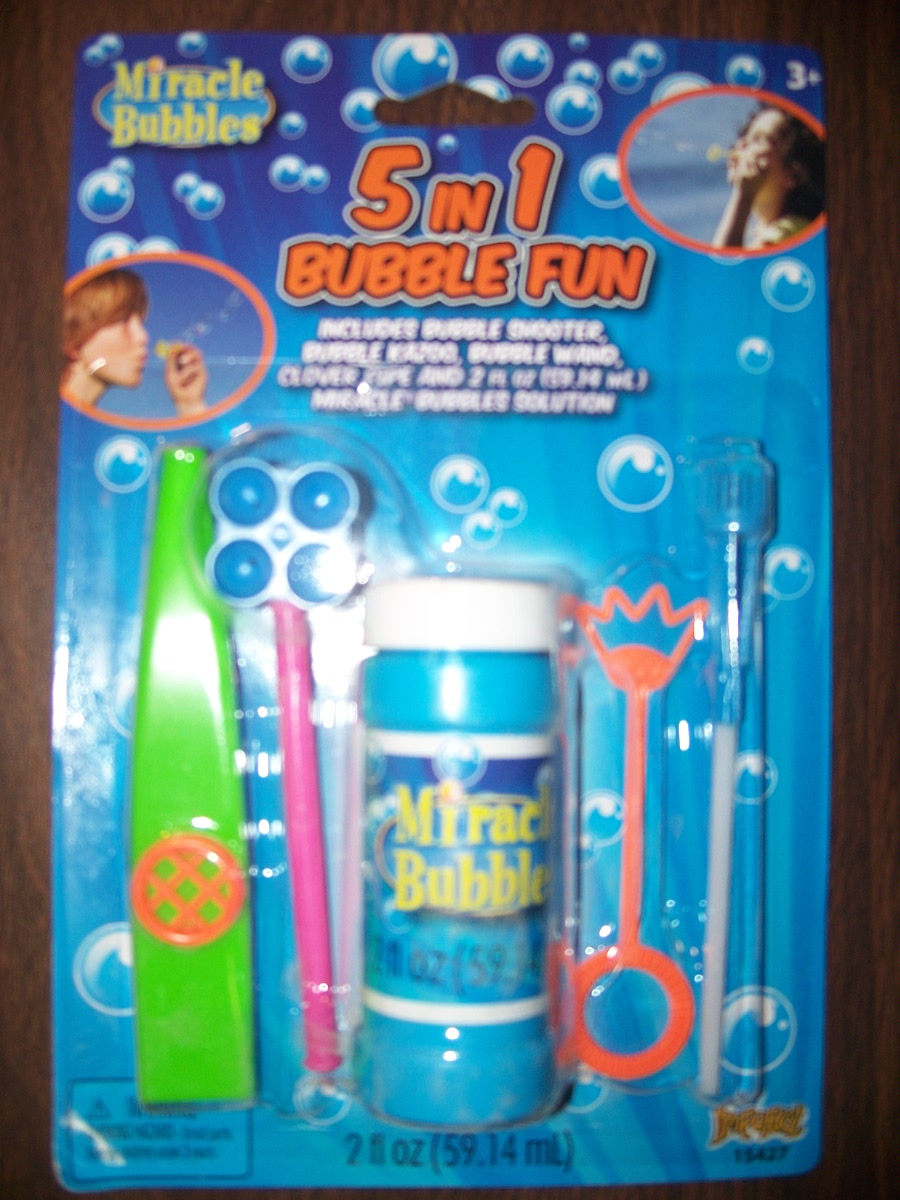 5 in 1 Bubble Fun ( blue )