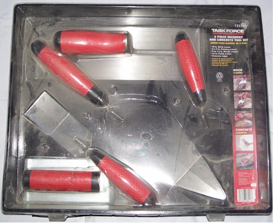 Task Force 5-Piece Concrete Masonry Kit