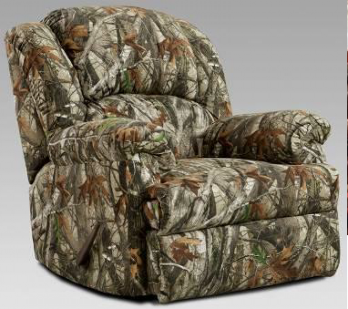 Next Camo-Chaise Rocker Recliner
