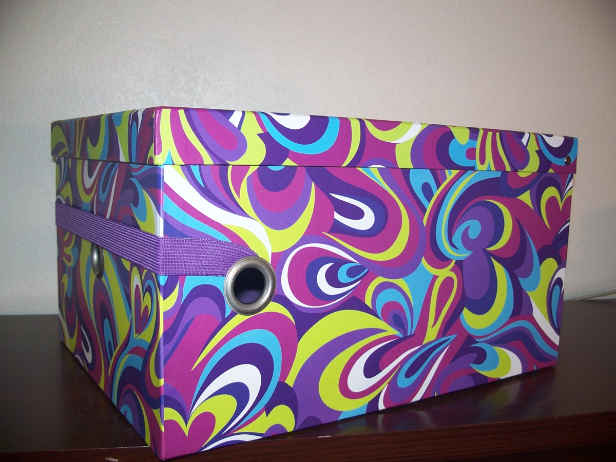 Purple Decorative Box