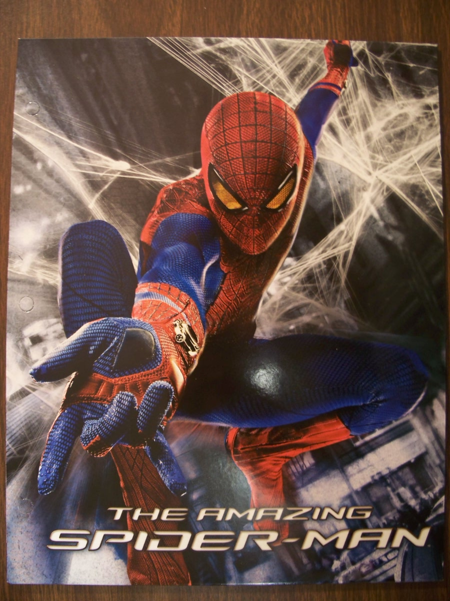 The Amazing Spider-Man ( white web Folder )