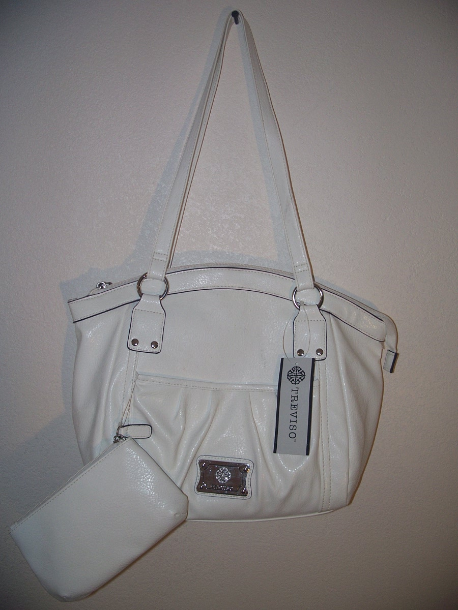Treviso Pocket Gifting Satchel White