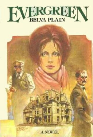 EVERGREEN BY BELVA PLAIN NOVEL HARDCOVER WITH JACKET 1978
