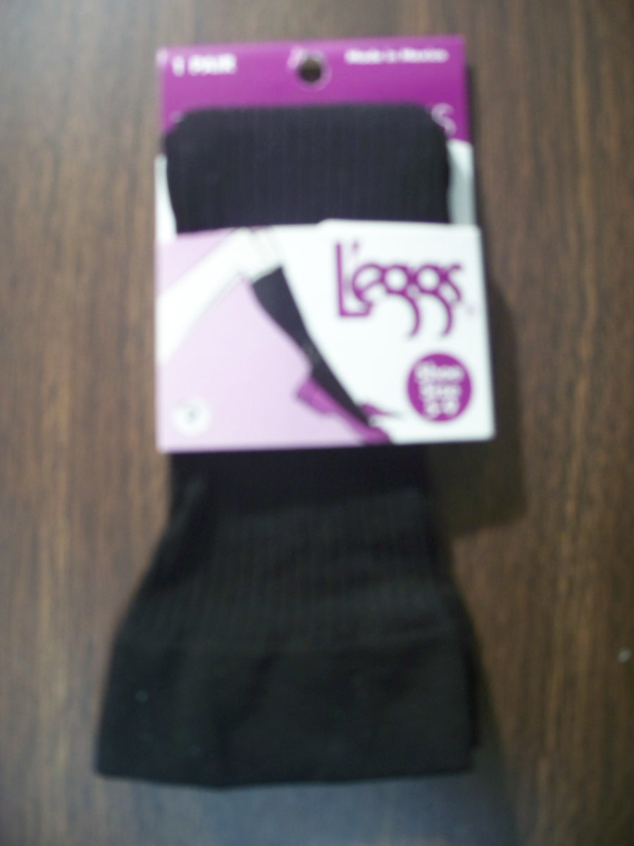 Leggs Trouser Socks (black) 5-9