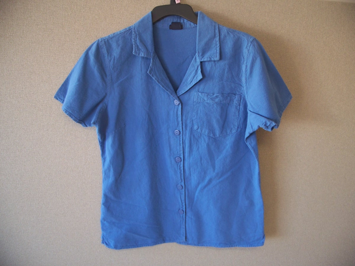 Basic Editions Sz S Pocket Campshirt (Blue)