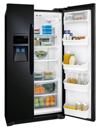Crosley Side By Side Refrigerator 25.8 Cu. Ft. Model CRSH268MB