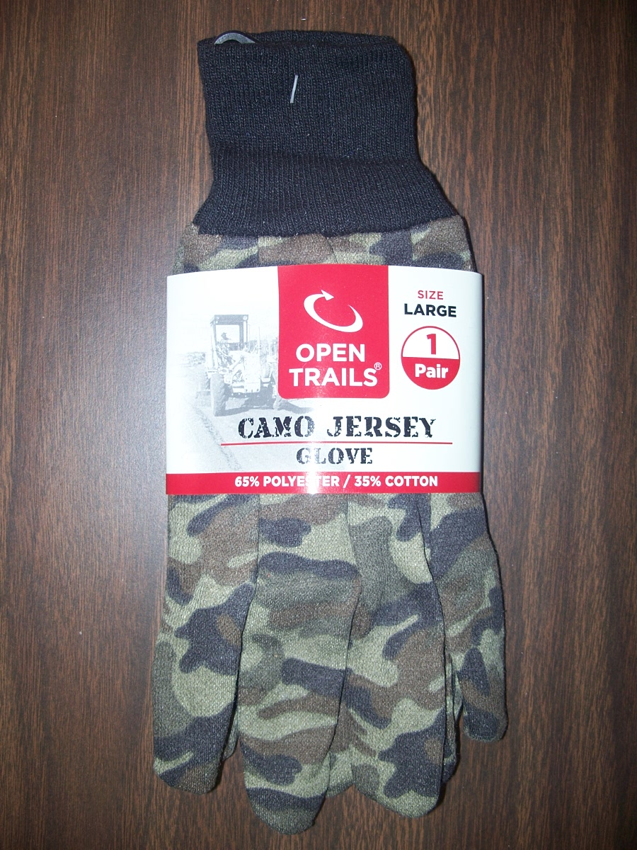 Open Trail lg Camo Jersey Gloves