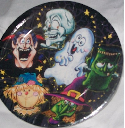 Casper The Ghost Party Plate