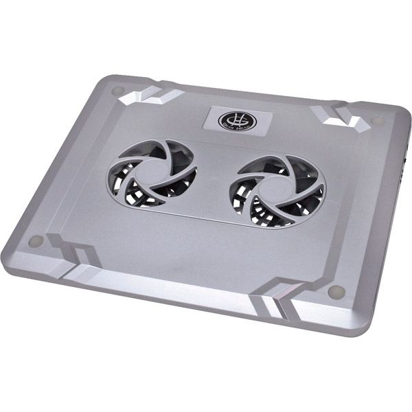 "15.6"""" Silver Dual-Cool Notebook Cooling Fan"