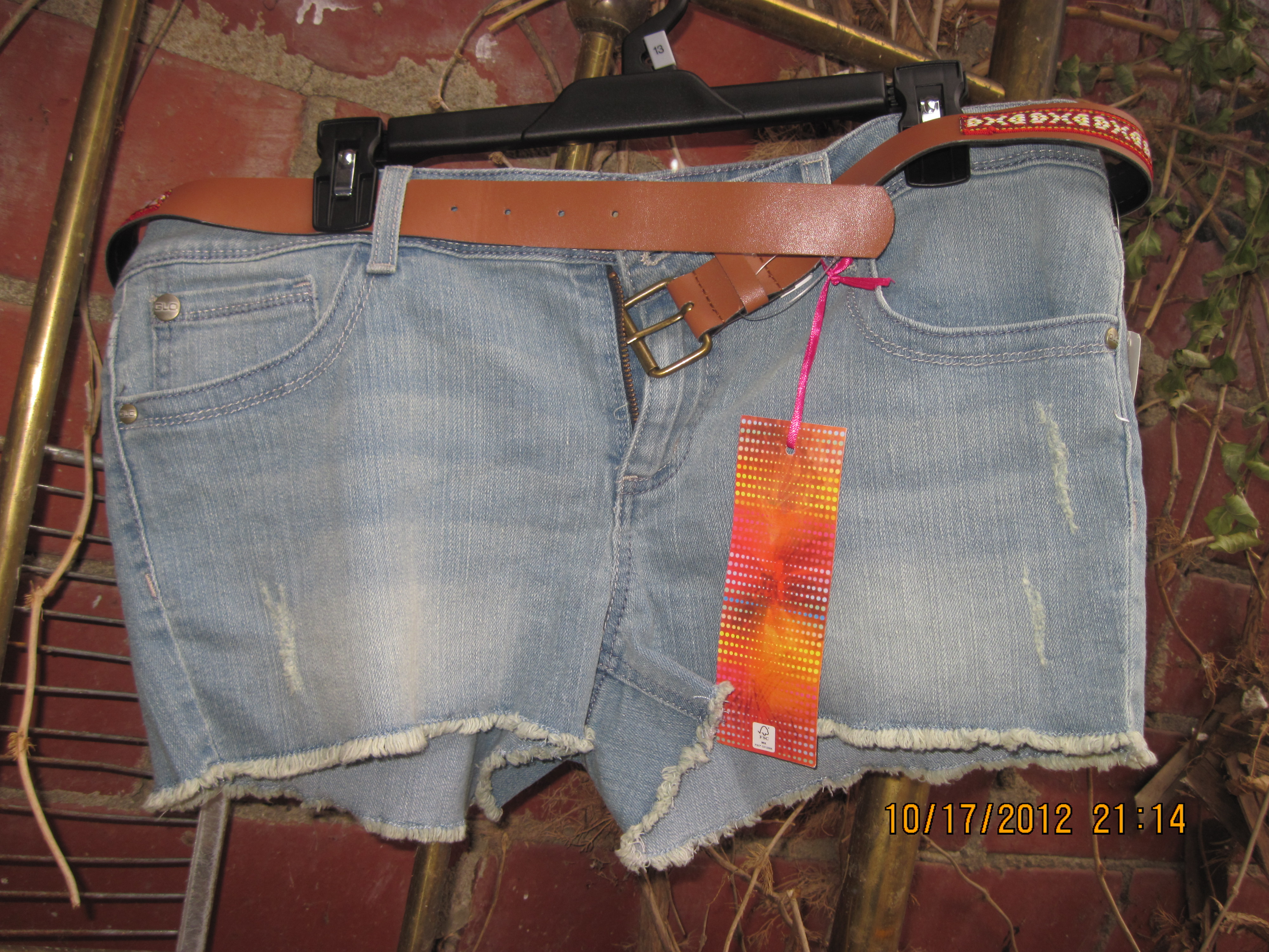 GLO Sz 13 Juniors Carling jean Shorts