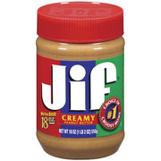 Jif Creamy Peanut Butter (Pack of 6)
