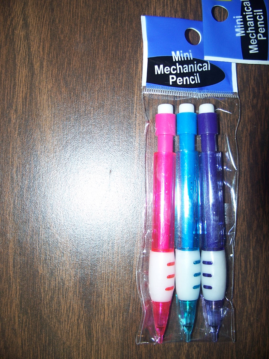 Mini Mechanical Pencil Pack