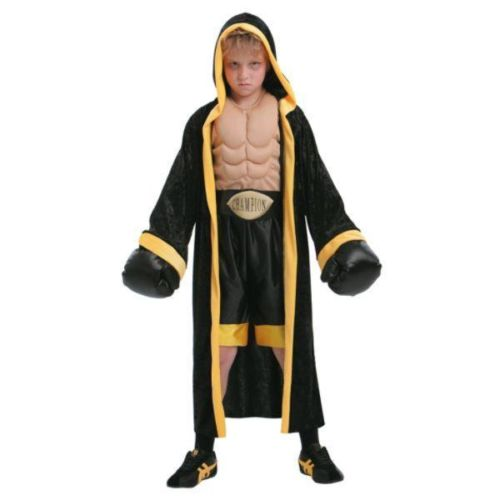 TOTALLY GHOUL PRIZEFIGHTER JUMPSUIT BOY SZ L