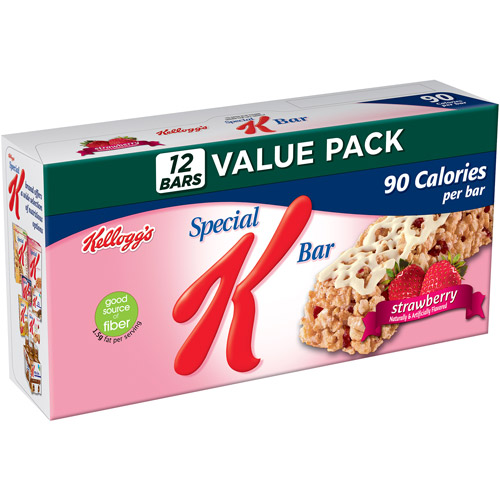 Kellogg's Special K Strawberry Bars Big Pack, 9.72 oz