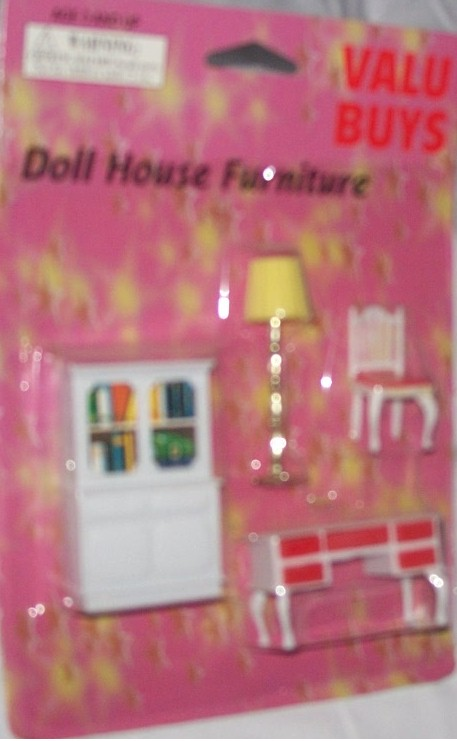 VALU BUY DOLL HOUSE FURNITURE 4 pc SET