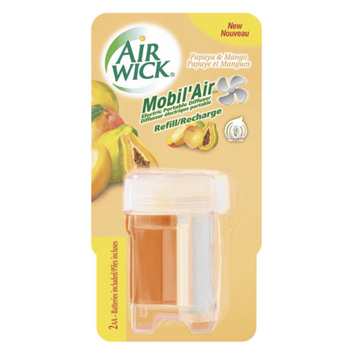 Air Wick Mobil'Air Diffuser Refill / Recharge Kit Papaya & Mango