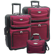 Amsterdam 3-Piece Rolling Luggage Set