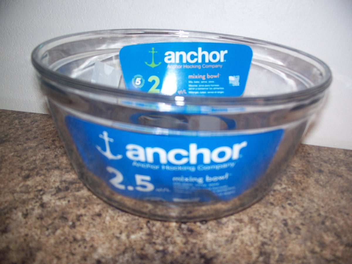 Anchor 2.5 qt Mixing Bowl