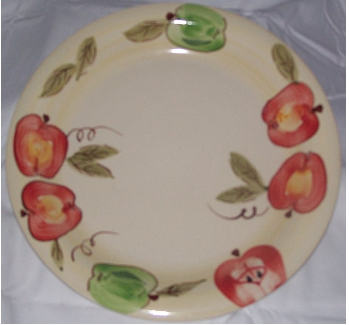 Apple Plate Dinnerware Place Setting 1pc.
