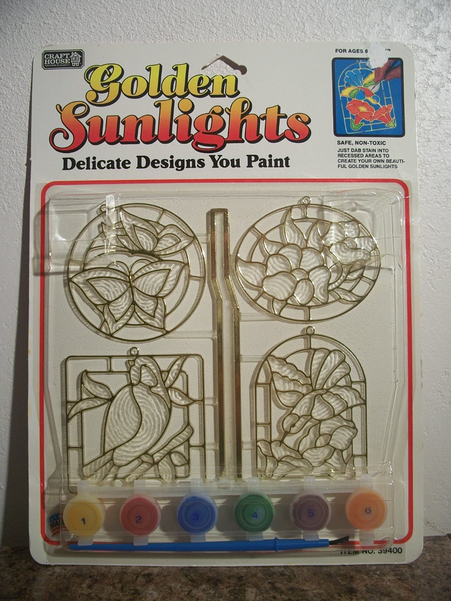 Craft House Golden Sunlights Sun Catchers