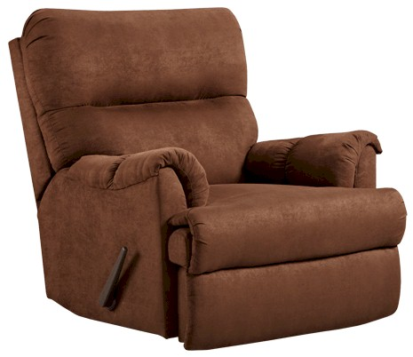 Aruba Chocolate Chaise Rocker Recliner