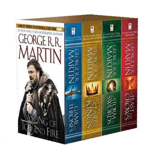 Song of Ice & Fire 4v: A Game of Thrones, a Clash of Kings, a St