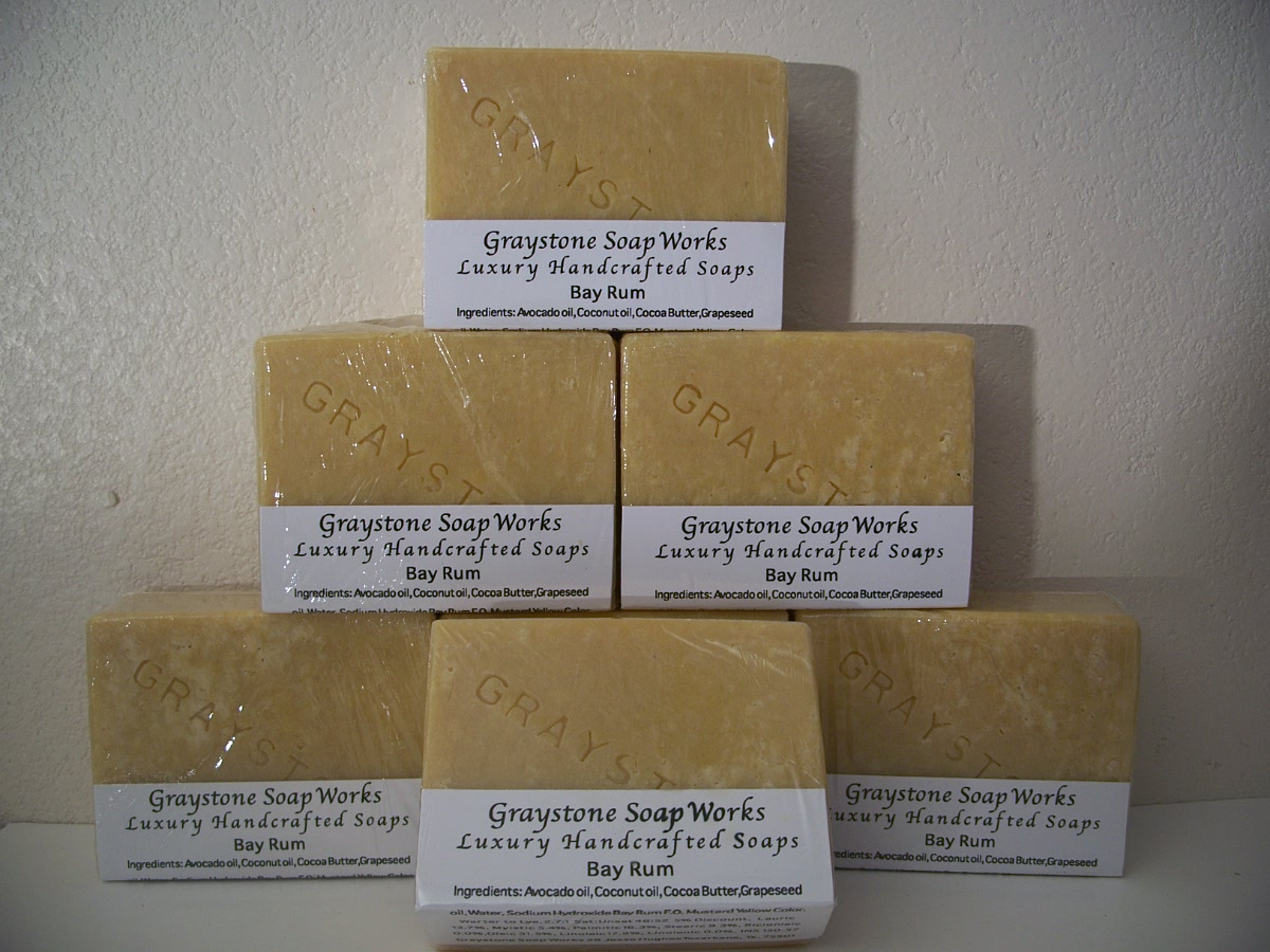 Graystone Soap Works Luxury Handcrafted Soaps - Bay Run