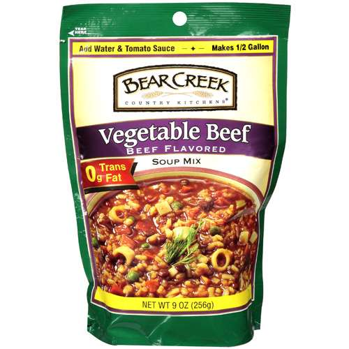 Bear Creek Country Kitchens: Vegetable Beef Soup Mix, 9 Oz