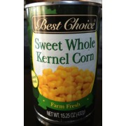 Best Choice Sweet Whole Kernel Corn 15.25 oz. (12 pk)