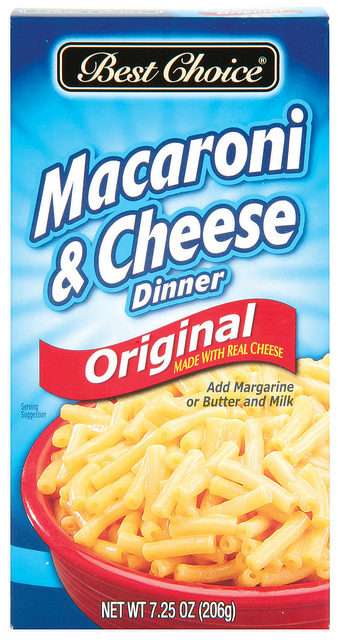 Best Choice Macaroni & Cheese Dinner 7.25z