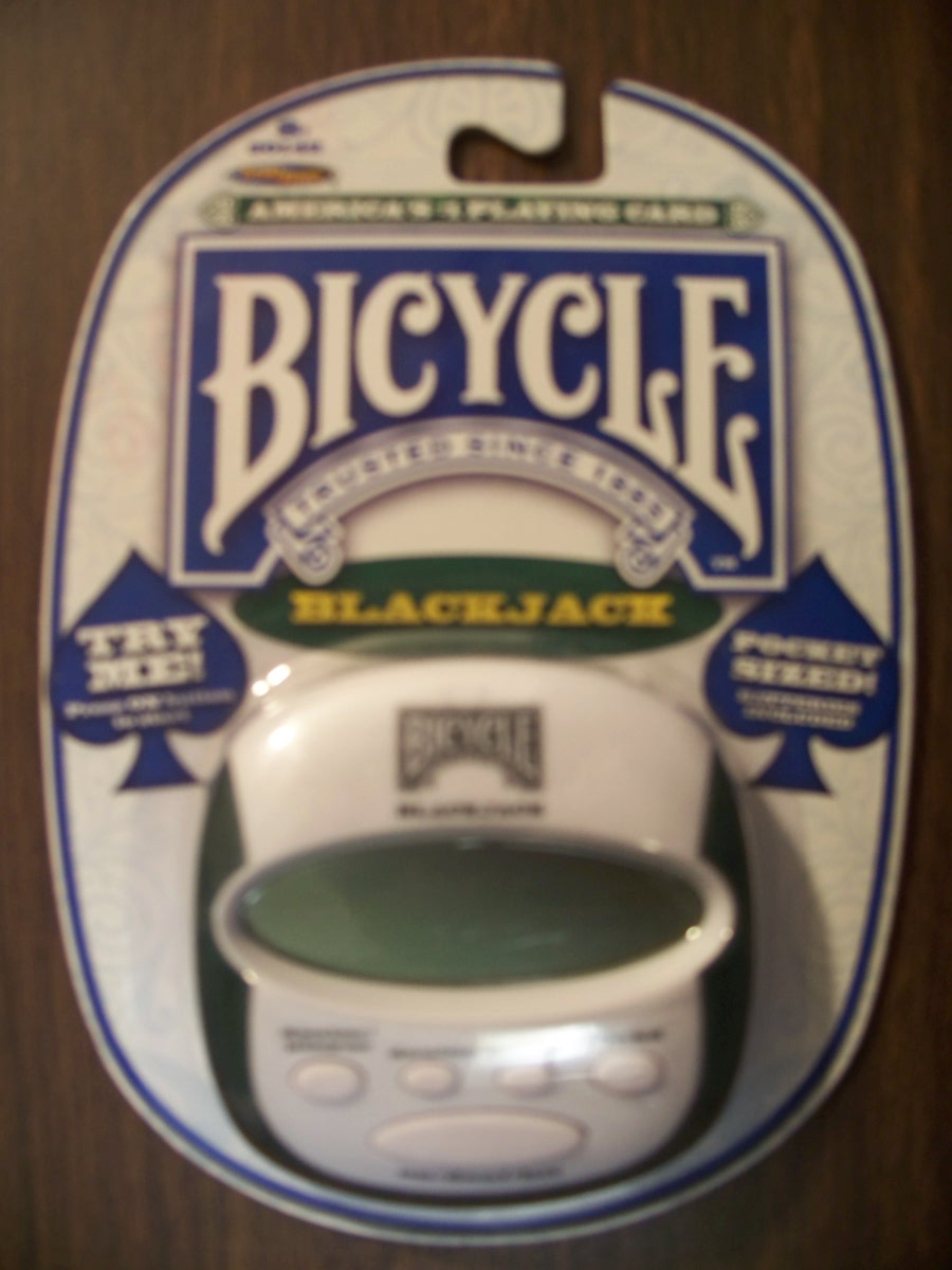 Bycycle Electronic Handheld BlackJack Game