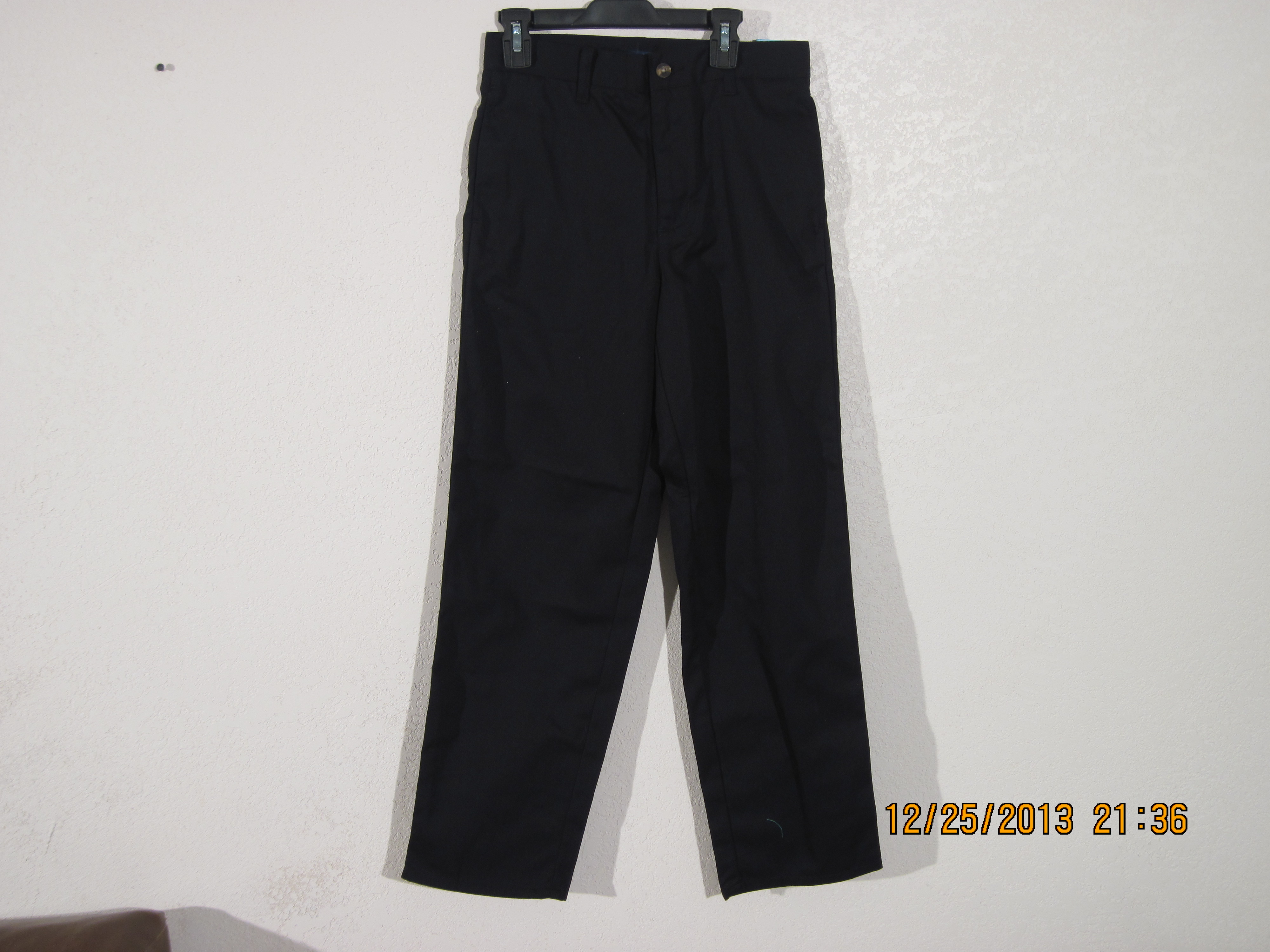 Basic Editions Sz 12 Twill Dress Pant(black)