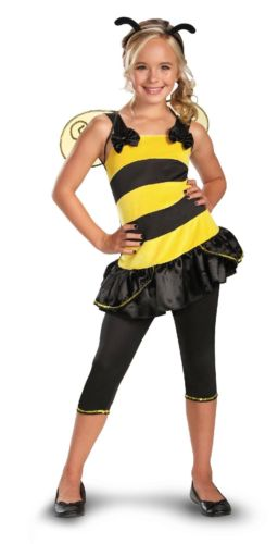TOTALLY GHOUL Bumble Bee Teen Girl Halloween Costume 14+