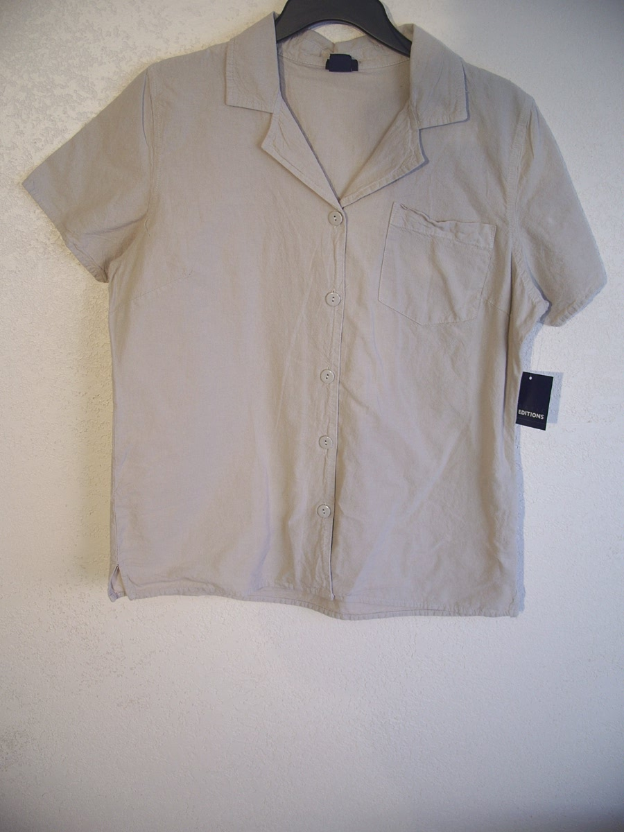 Basic Editions Sz S Campshirt (Tan)