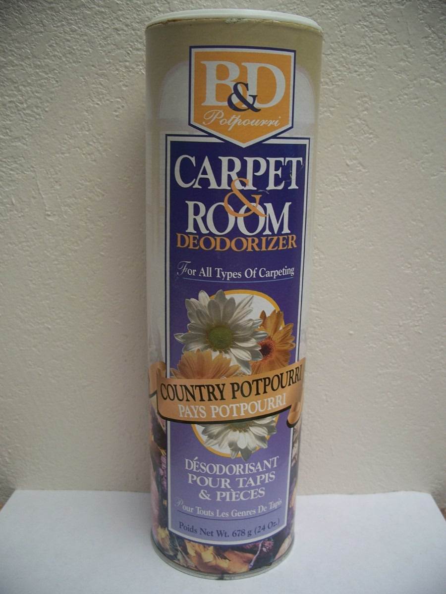 B & D Carpet / Room Deodorizer Country Potpourri