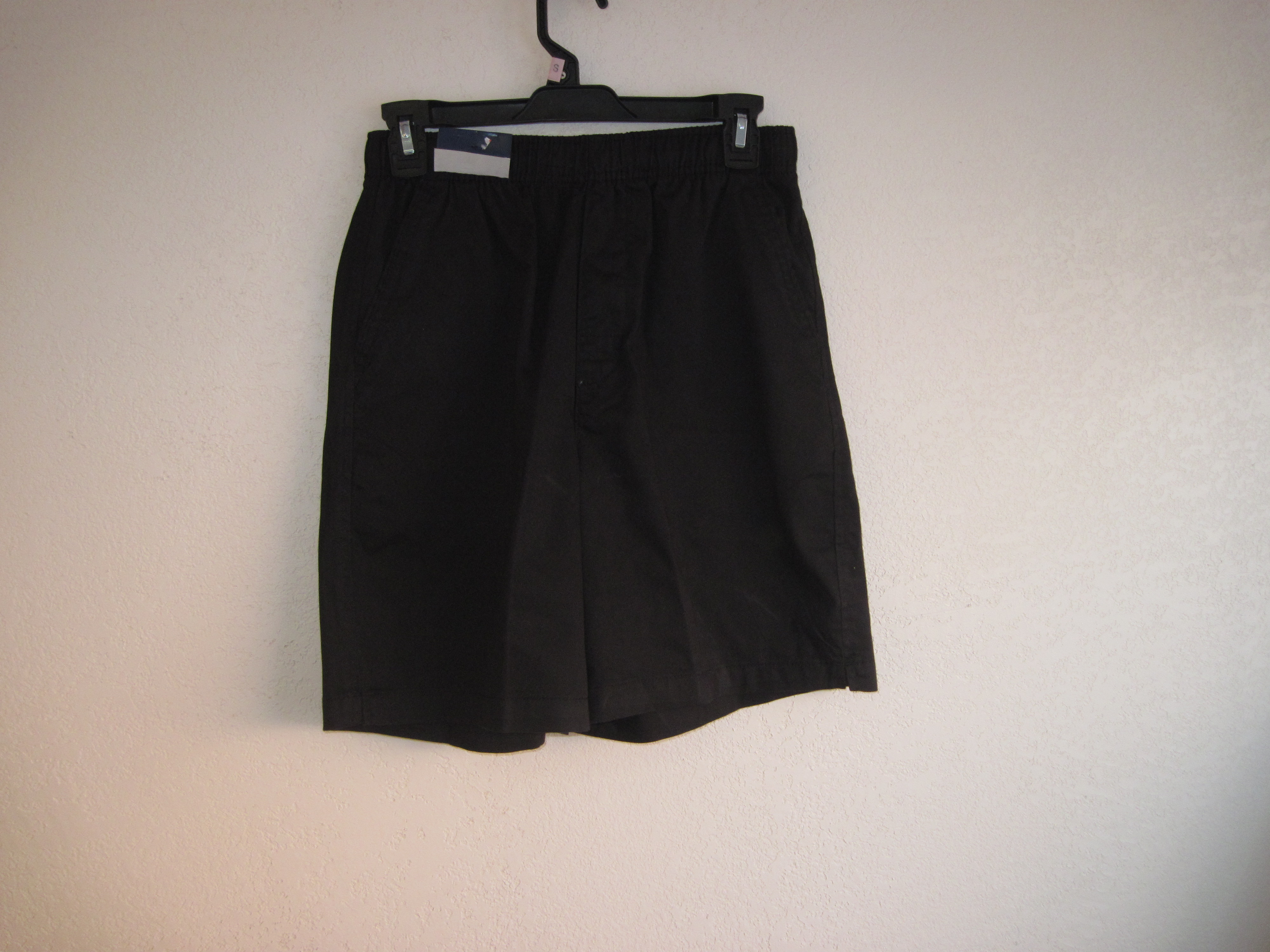 Basic Editions Sz Sm Casual Pocketed Shorts (black)