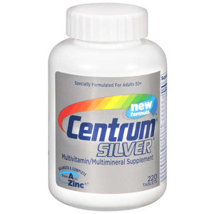 Centrum Multivitamin / Multimineral Supplement Centrum Silver 22