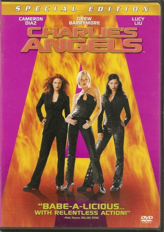 Charlies Angels Babe - A - Licious With Relentless Action