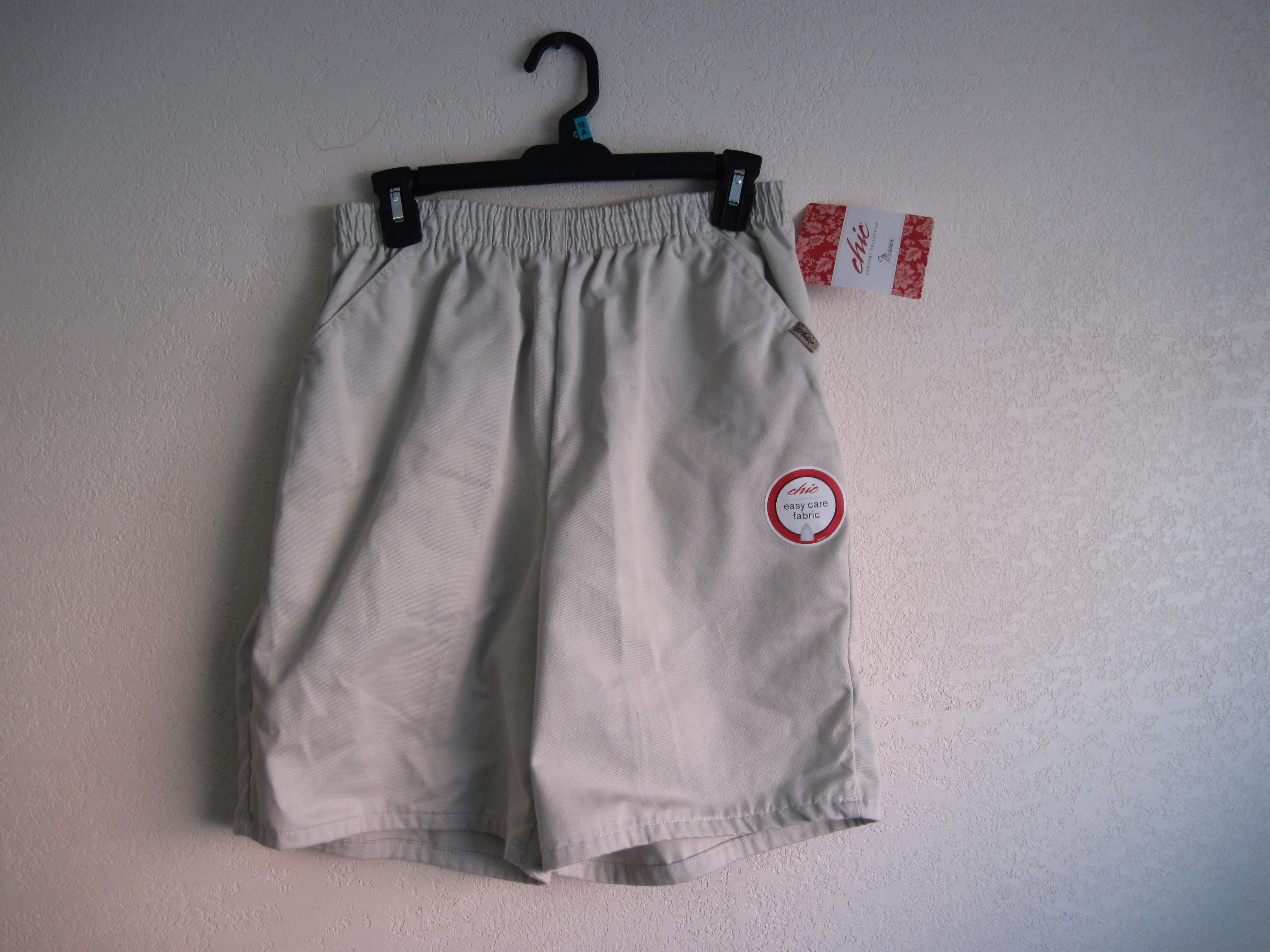 Chic Sz 12 A Misses Shorts Tan