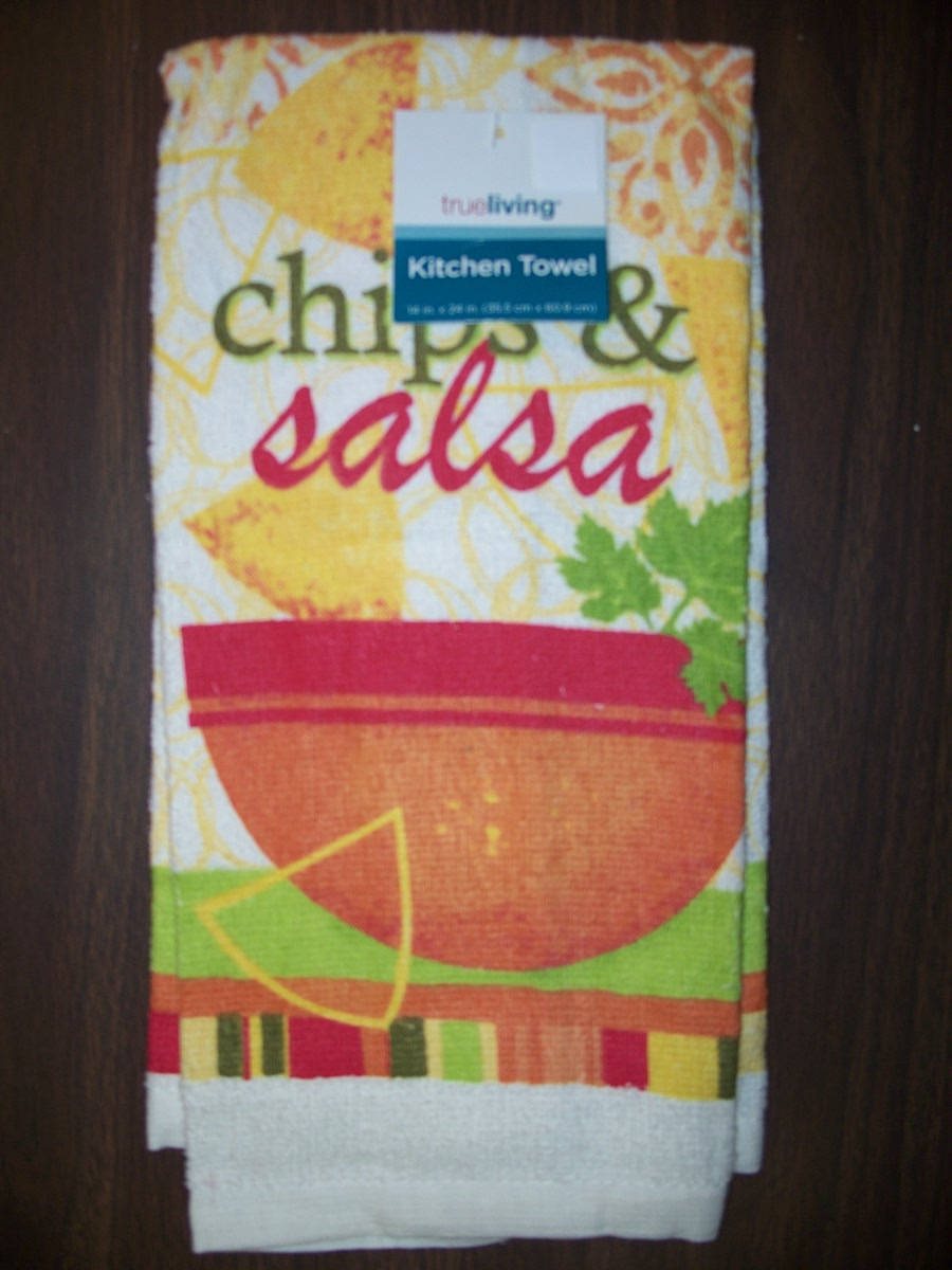Chips & Salsa Kitchen Towel