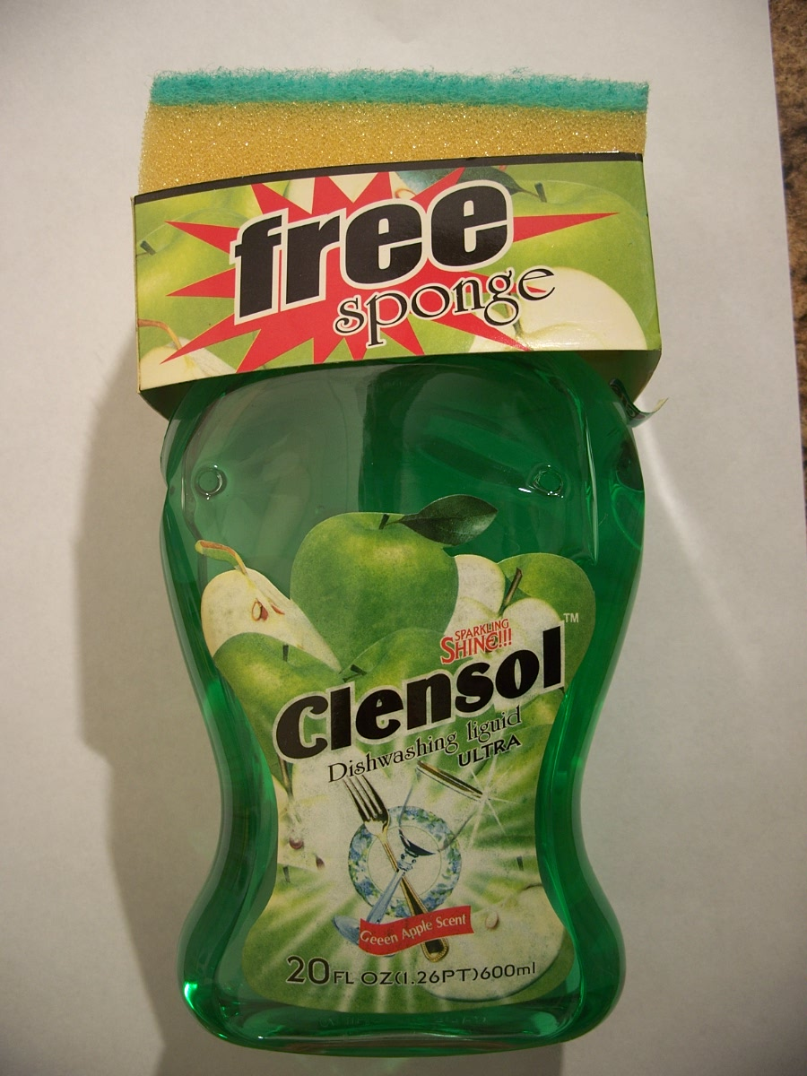 Clensol Dishwashing Liquid Ultra Green Apple Scent