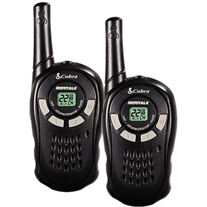 Cobra 2-Pack 16-Mile microTALK CX105 2-Way Radios