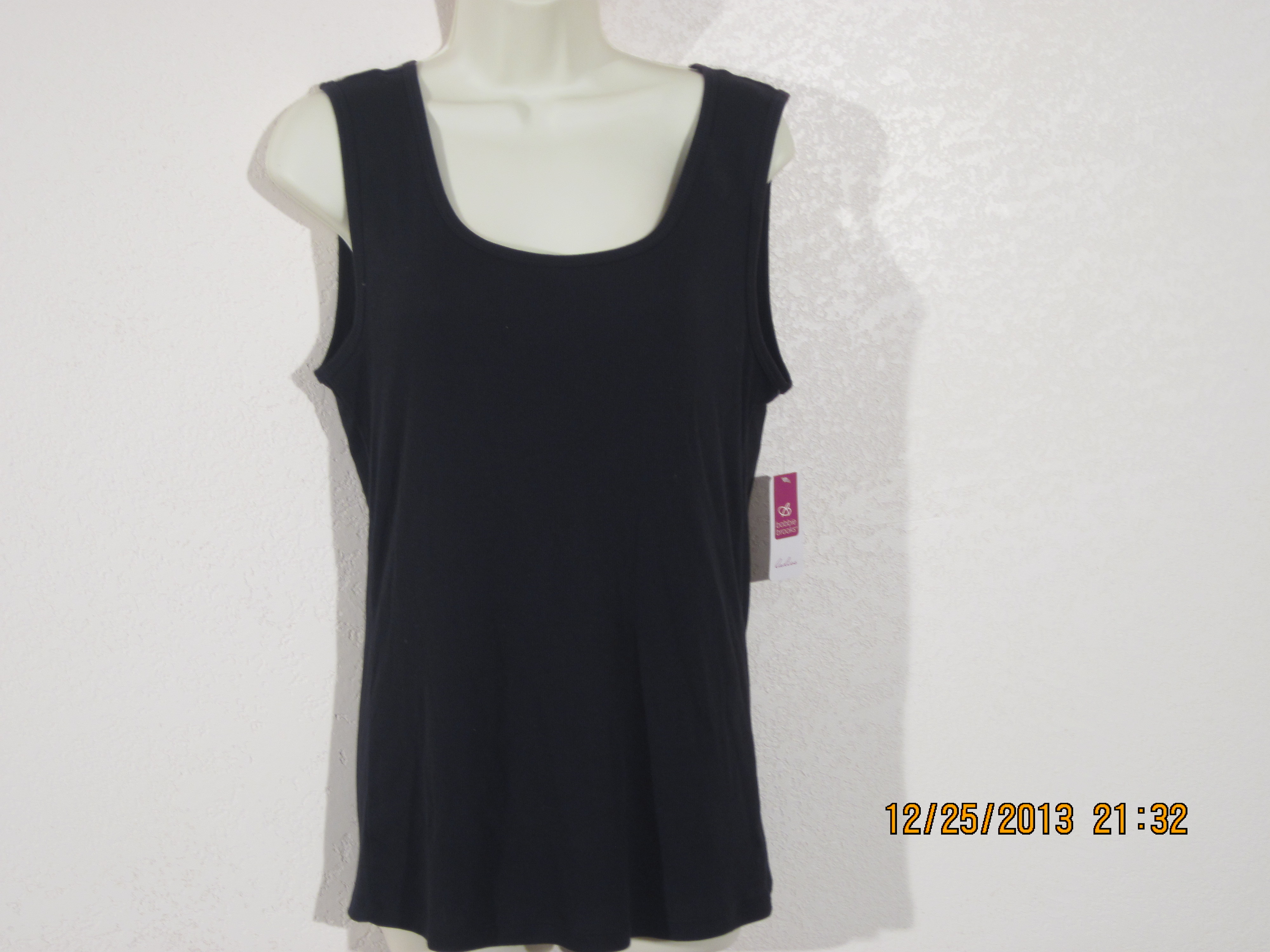 Bobbie Brooks Sz L 12-14 Tank Top (black)