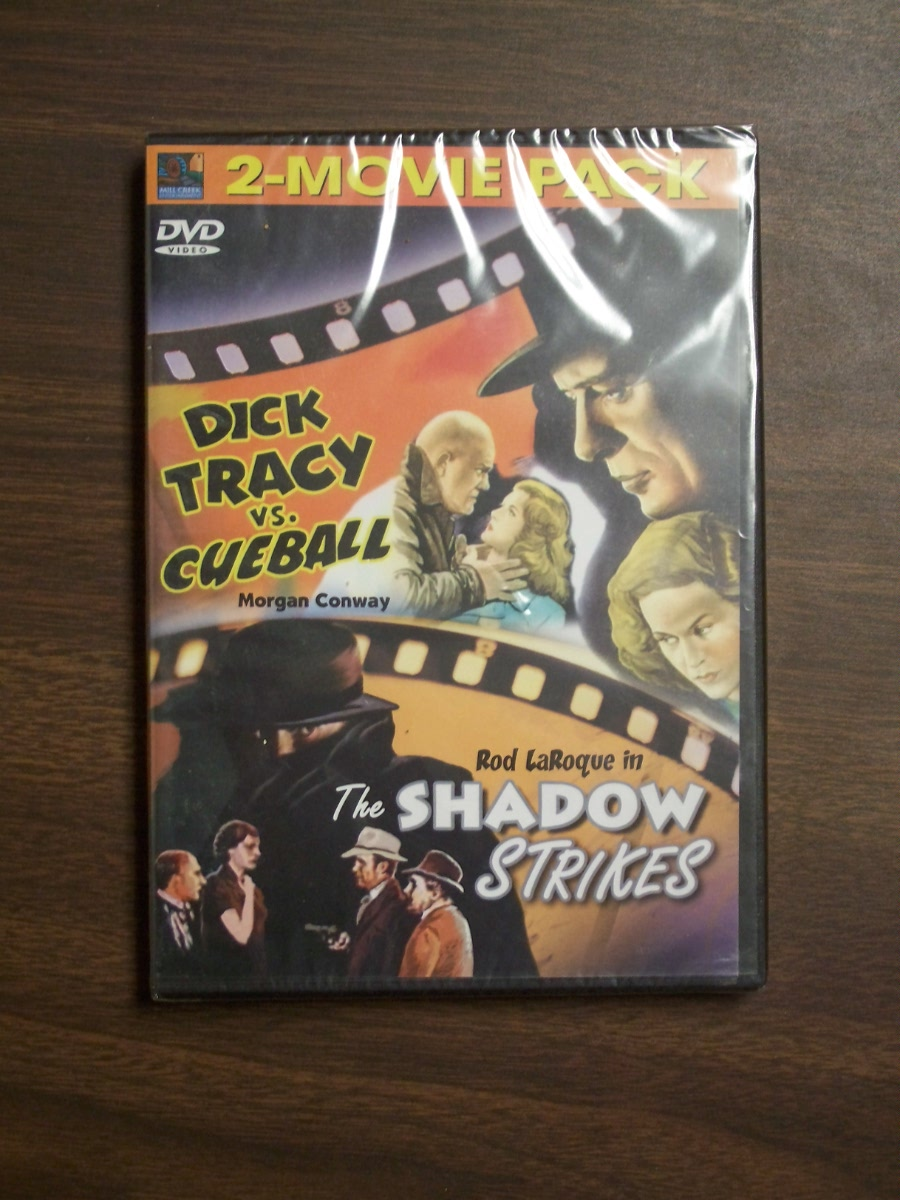 Double Feature~ Dick Tracy vs Cueball/ The Shadow Strikes