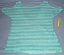 Dream Out Loud Sz XL Juniors Blue Stripe Shirt