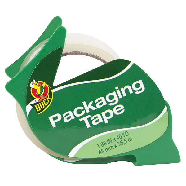 Duck Tape Dispenser and Standard Packaging Tape