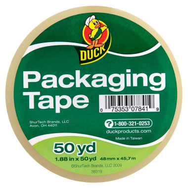Duck Standard Packaging Tape 1.88 x 50 yd
