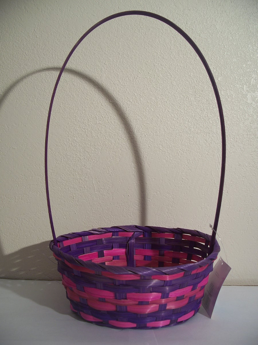 Purple and Pink Easter Basket