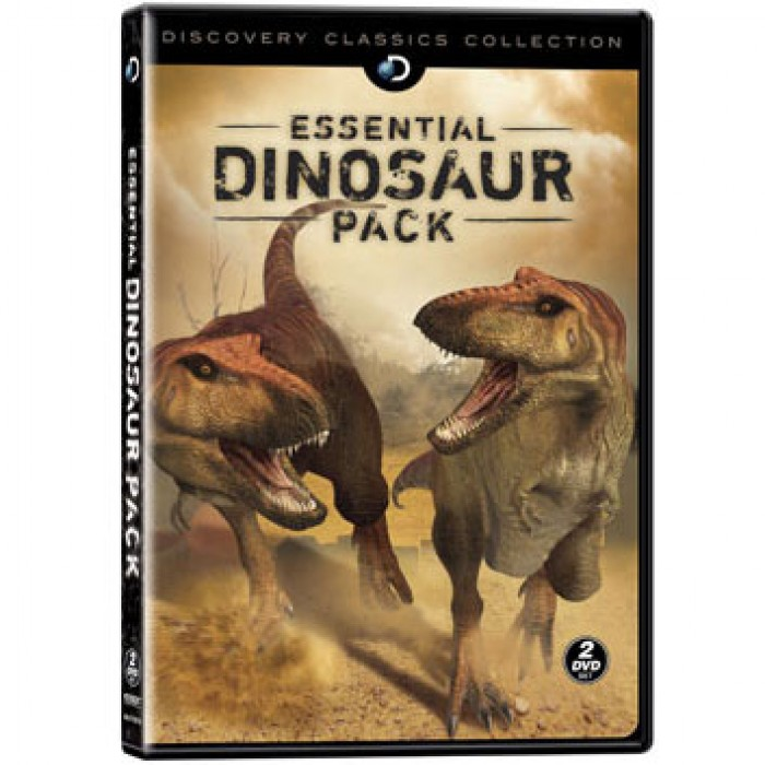 Essential Dinosaur Pack DVD